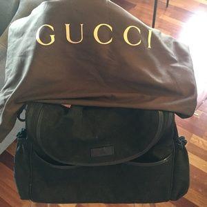 Gucci Diaper Bag - Black